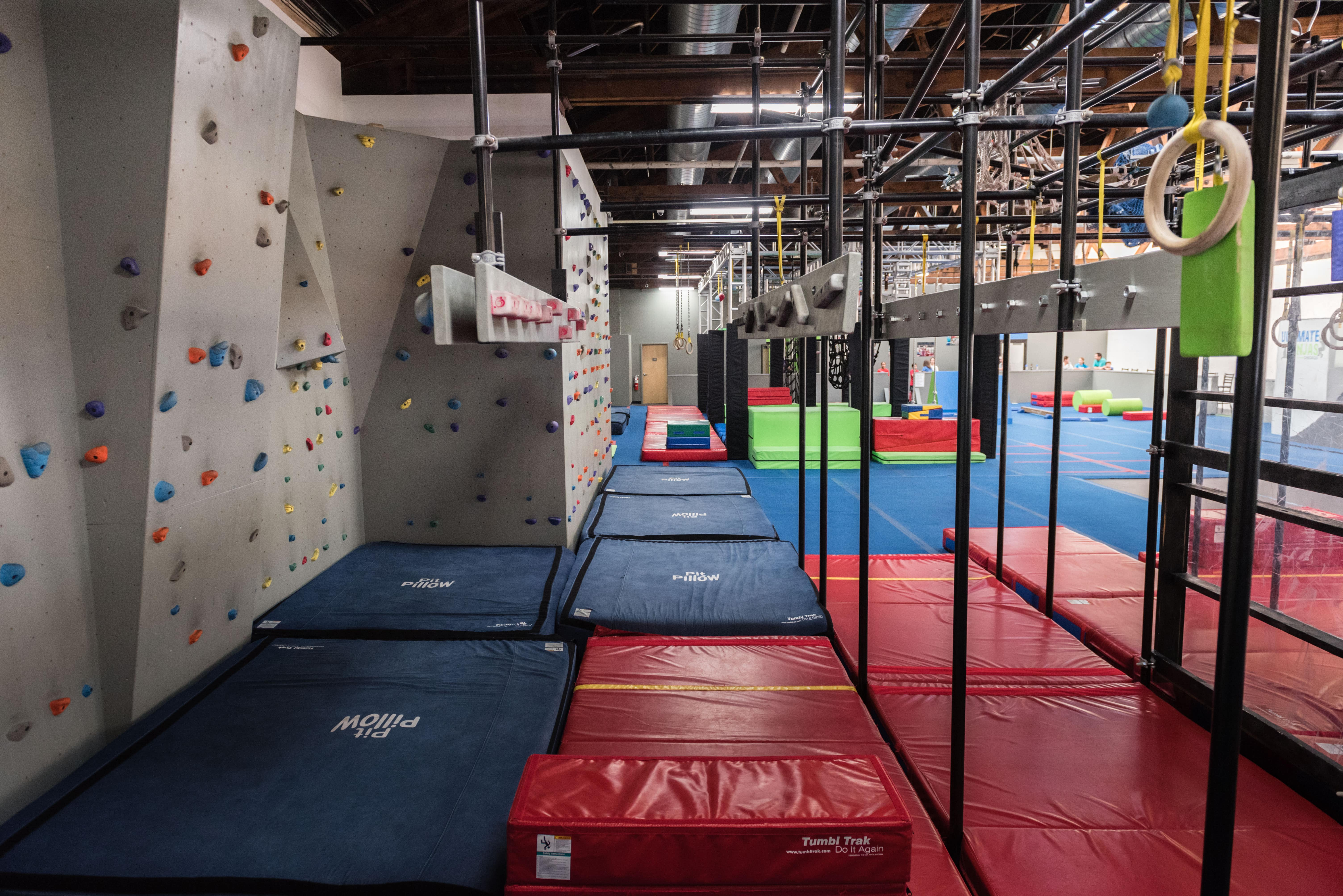Open Gym Obstacle Course Training
